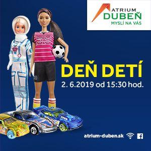 Deň detí v Atrium Dubeň