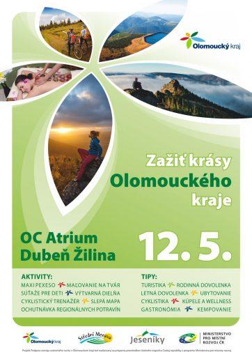 Príďte navštíviť informačný stánok Olomouckého kraja