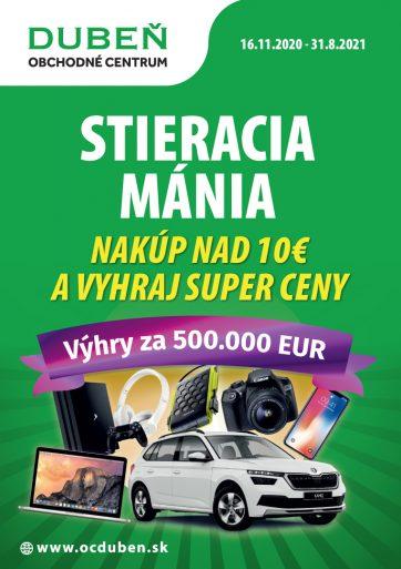 Stieracia mánia v OC Dubeň!